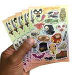 Customized sticker sheets