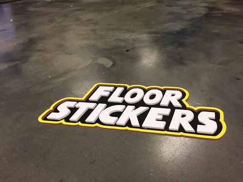 Floor stickers for Floor stickers
