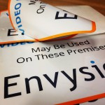 Envysion Double Sided Stickers