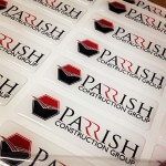 Parrish Epoxy 3D Dome Stickers