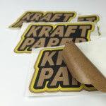 Kraft Paper Stickers