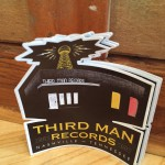 Third Man Records custom die cut stickers