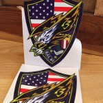 American Eagle Die Cut Stickers
