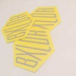 Custom die cut shape stickers