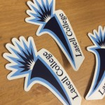 Lasell College Removable Adhesive Stickers