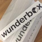 Wunderbox Glossy White Vinyl Stickers