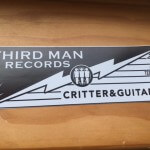 Third Man Records satin matte stickers