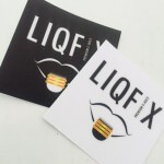 LiqFix Sandy Matte Textured Stickers