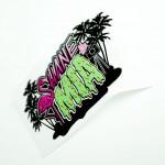 Vinyl die cut custom sticker