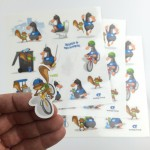 Custom Printed Sticker Sheets