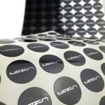 Custom mirror sticker sheets
