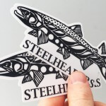 Steelhead Custom Stickers