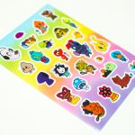 Die cut Sticker Sheets