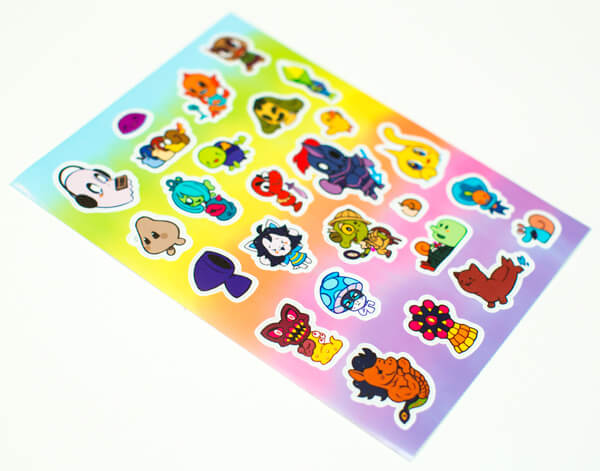 how to make die cut stickers at home