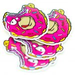 Homer Simpson Donut Stickers