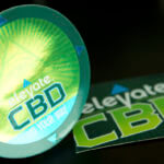 CBD Mirror Chrome Stickers