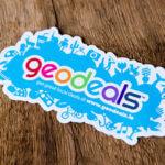 GeoDeals Glossy White Decals