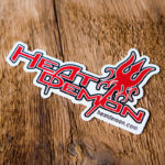 Heat Demon Glossy Custom Sticker
