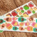 Custom Kiss Cut Sticker Sheet