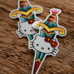 Hello Kitty Knife Stickers