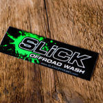 Full Color Bleed Glossy stickers for Slick Offroad