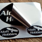 Brushed Alloy Sheets for Aloft Hobbies