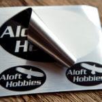 Brushed Alloy Sheets for Aloft Hobbies