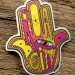 Glossy Die Cut Sticker for Broad City