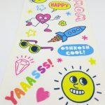 Full Color Kiss Cut Sticker Sheets for Oshkosh