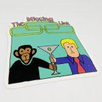 Full Color Die Cut Vinyl Sticker for Alltimers