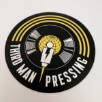 Satin Matte Vinyl Stickers for Third Man Records