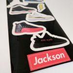 Kiss Cut Glossy Vinyl Sticker Sheet for Jackson