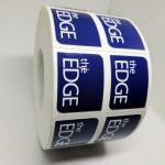 Roll Label Stickers for The Edge
