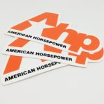 Die Cut Full Color Vinyl Stickers for AHP