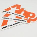 Die Cut Full Color Vinyl Stickers for AHP