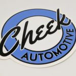 Glossy Coated Die Cut Stickers for Cheek Automotive