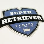 Glossy Coated Die Cut Stickers for Super Retriever