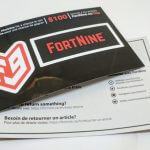 Full Color Vinyl Stickers w/ Back Side Paper Print for Fort Nine