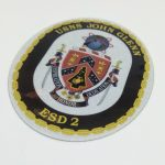 Reflective Die Cut Vinyl Sticker for USNS John Glenn
