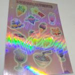 Holographic Vinyl Kiss Cut Sticker Sheets for Intergalactreats
