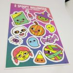 Full Color Vinyl Kiss Cut Sticker Sheet 2 Spoopy