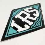 Full Color Glossy Coated Die Cut Vinyl Stickers LRS
