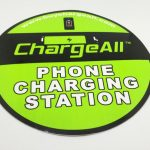 Full Color Glossy Coated Circle Cut Vinyl Stickers ChargeAll