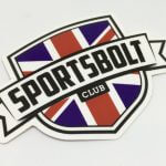 Full Color Glossy Coated Die Cut Vinyl Stickers SportsBolt