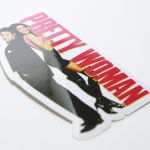 Full Color Glossy Coated White Vinyl Die Cut Sticker Alltimers Pretty Woman