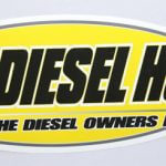 Full Color Glossy Coated Die Cut Vinyl Sticker Diesel Hub