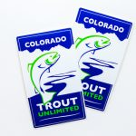 Trout Unlimited Stickers