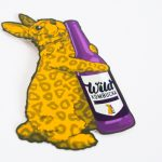 Wild Kombucha satin matte stickers