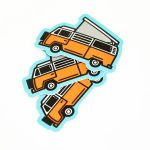 Van life stickers