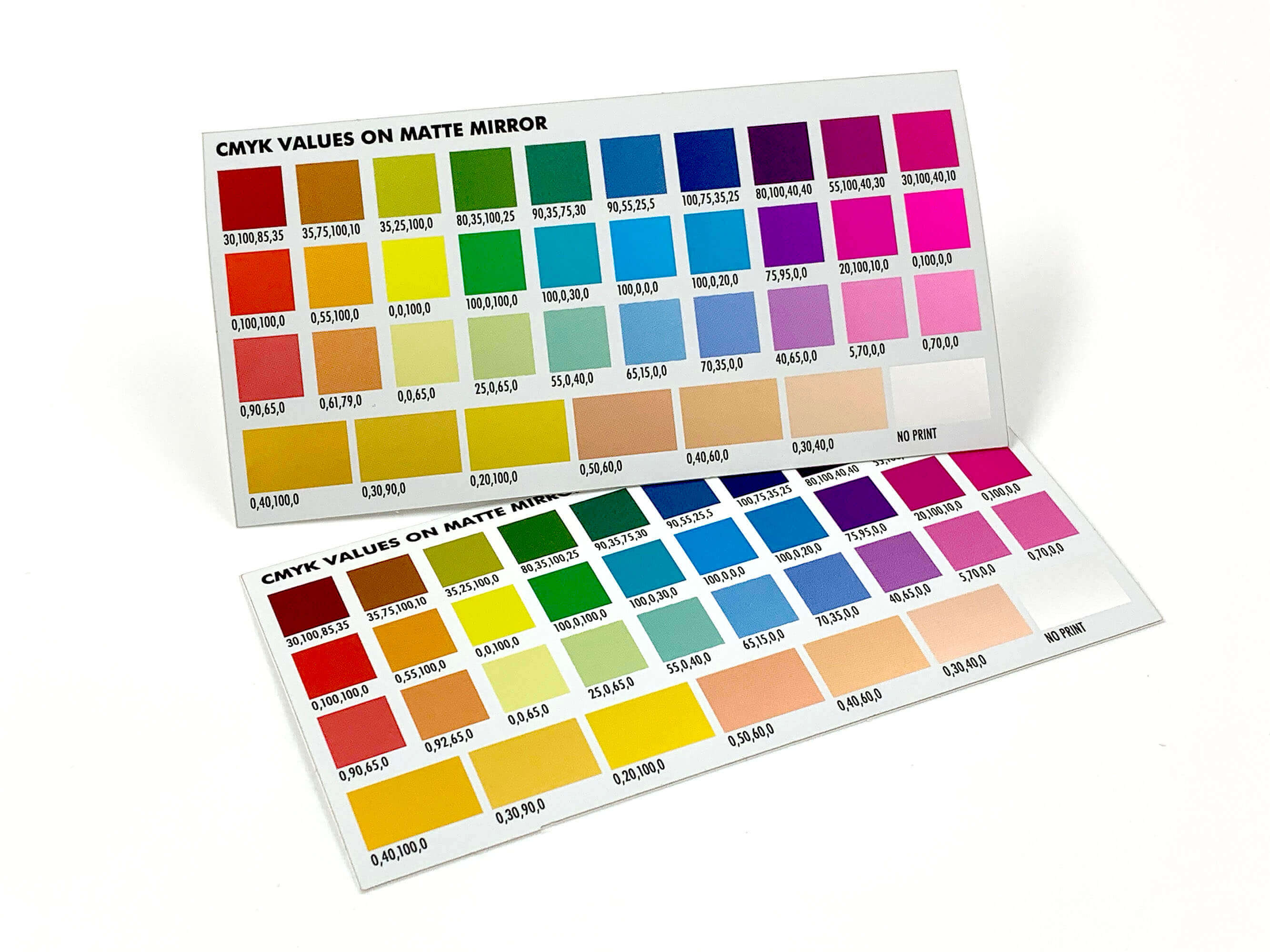 Colored & Tinted Matte Mirror Metallic Foil Stickers
